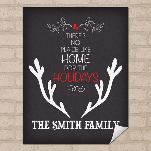 Home Personalized Poster Print, Small 8.5
