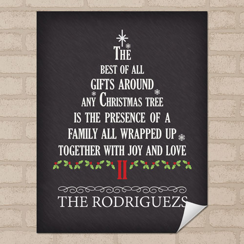 Gift Personalized Poster Print, Small 8.5