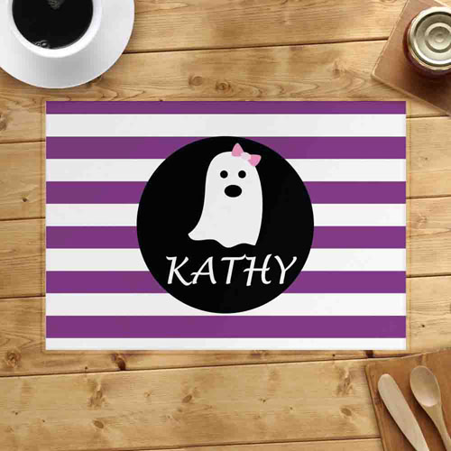 Personalized Ghost Girl Placemats