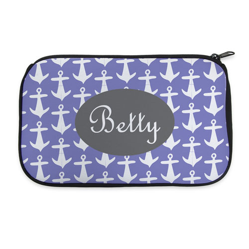 6353aee36e9a Personalized Neoprene Anchor Cosmetic Bag (6 X 10 Inch). View