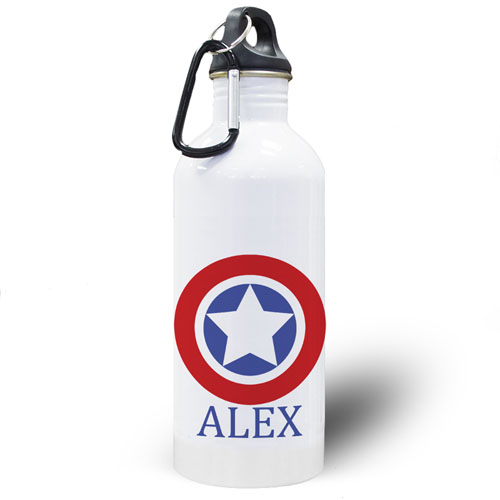 Personalized Photo Star Water Bottle
