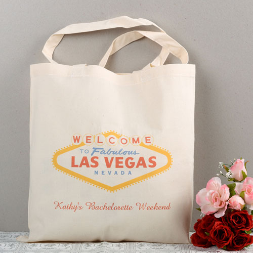 Las Vegas Wedding Personalized Tote Bag