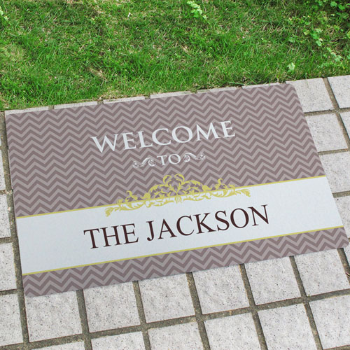 Create Your Own Our Loving Family Door Mat