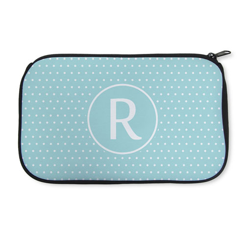 2a37eff418a6 Personalized Neoprene Polka Dots Cosmetic Bag (6 X 10 Inch). View