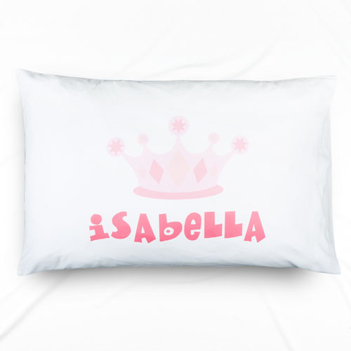 Little Queen Personalized Name Pillowcase