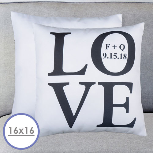 Love Personalized Pillow Cushion Cover 16