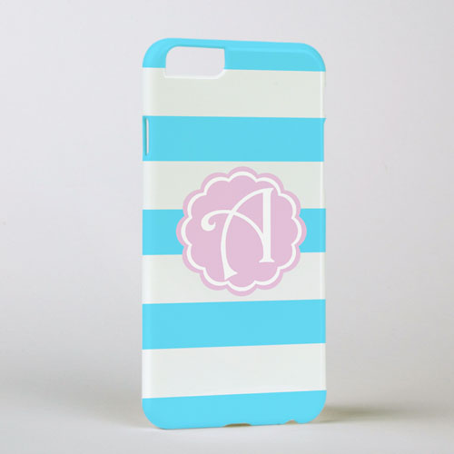 Ocean Stripe Personalized Phone Case, iPhone 6