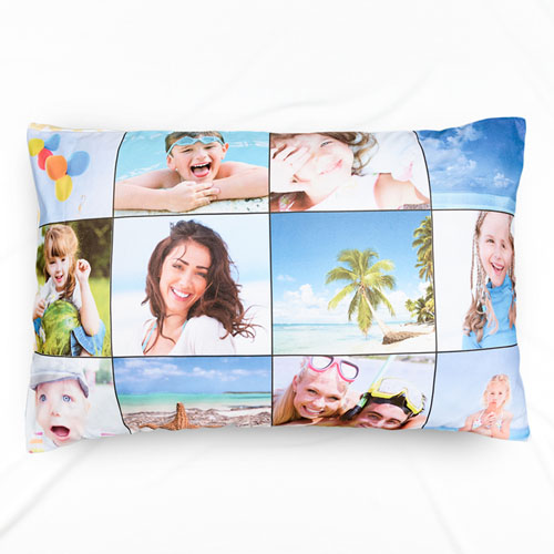 Nine Collage Personalized Photo Pillowcase