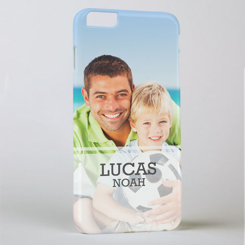 Simple Personalized Photo iPhone 6+ Case