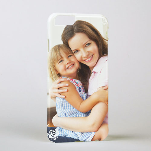 Floral Personalized Photo iPhone 6 Case