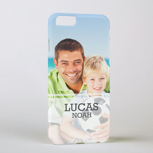 Simple Personalized Photo iPhone 6 Case