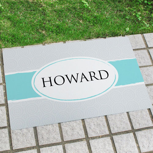 Sea Breeze Personalized Doormat