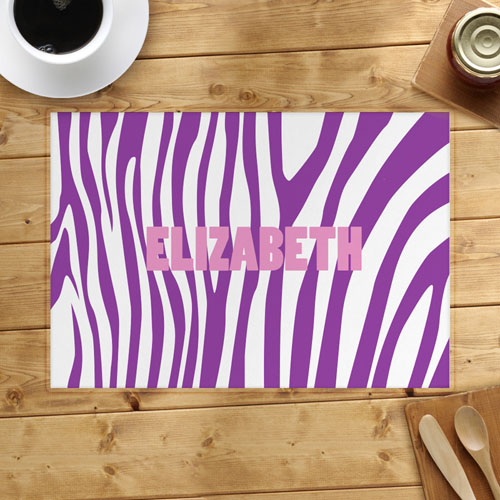 Lavender Skin Personalized Placemat