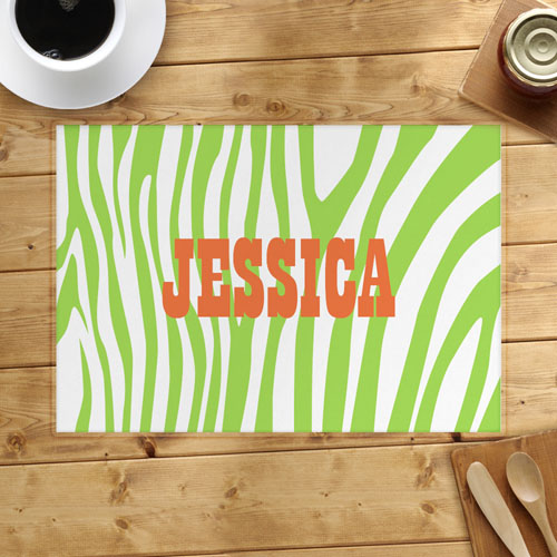 Lime Skin Personalized Placemat