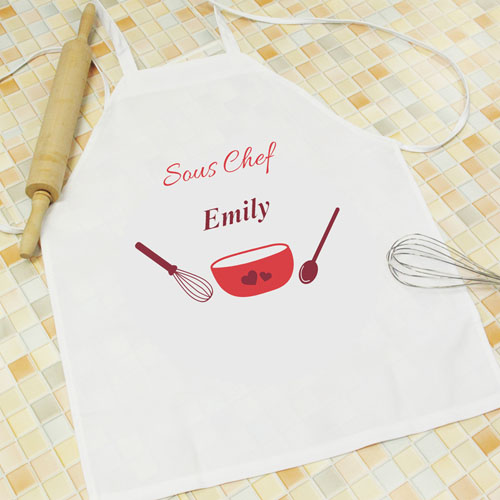 Seasoned With Love Personalized Kids Apron