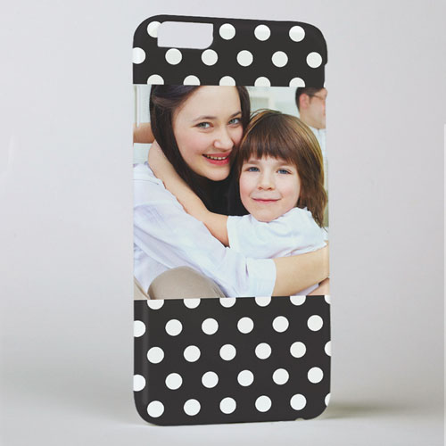 Black Dot Personalized iPhone 6+ Phone Case