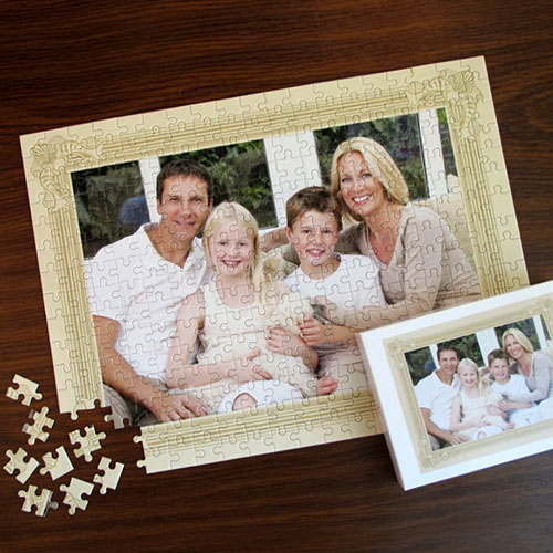 Personalized Classic Frame 12X16.5 Photo Puzzle