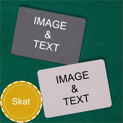 Skat Landscape Custom Cards (Blank Cards) Playing Cards