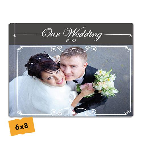 Create Your Hardcover Wedding Photo Book 6X8