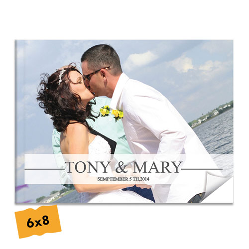 Create Your Softcover Wedding Photo Book 6X8 Photo Book