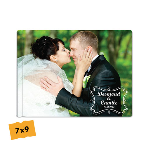 Create Your Hardcover Wedding Photo Book 7X9
