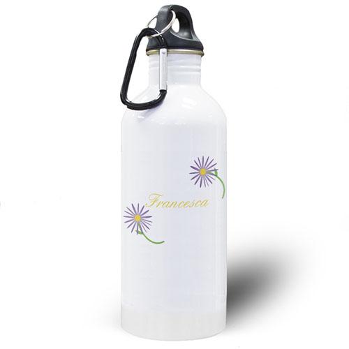 Daisy Personalized Water Bottle