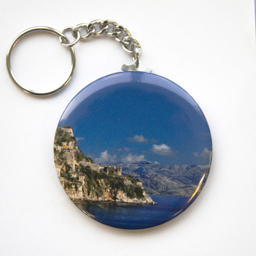 Photography Personalized Button Keychain