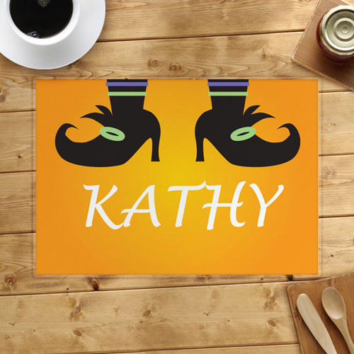 Personalized Halloween Placemat