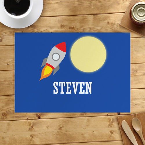 Rocket Personalized Placemat