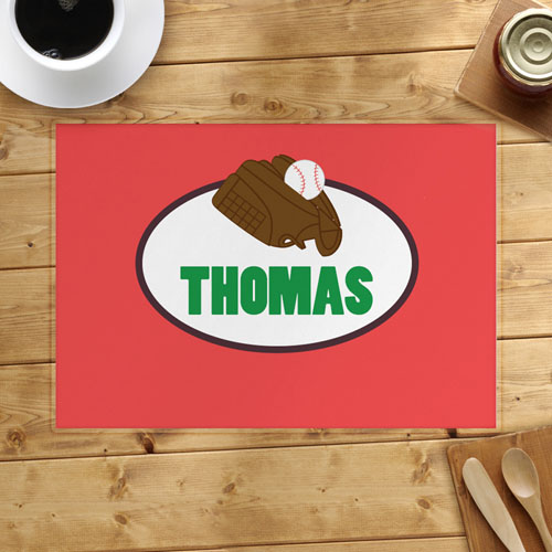Baseball Personalized Placemat