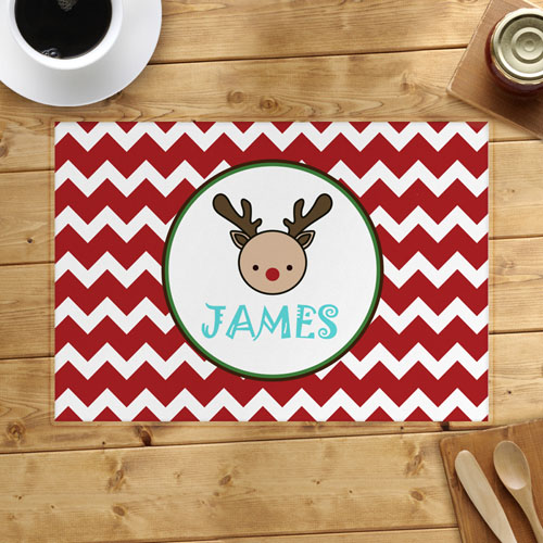Deer Personalized Placemat