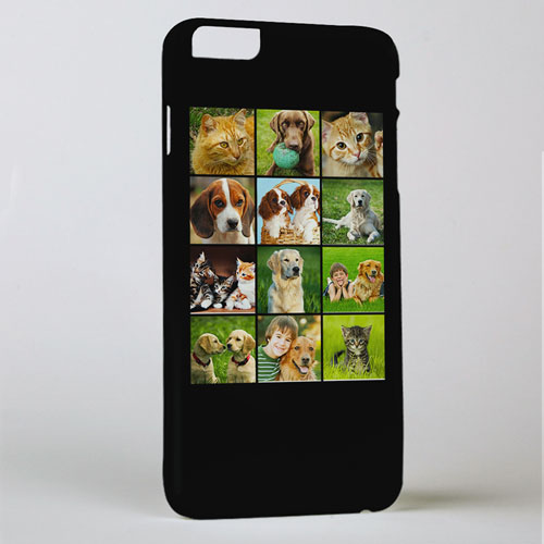 Black Twelve Collage Photo Personalized iPhone 6+ Case