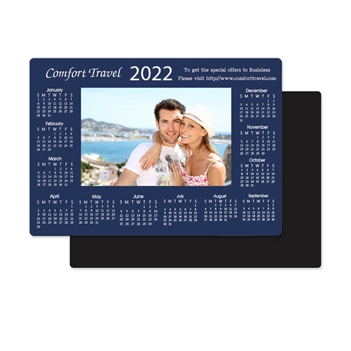 2019 Photo Calendar Magnet 3.5