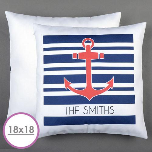 Anchor Personalized Large Cushion 18