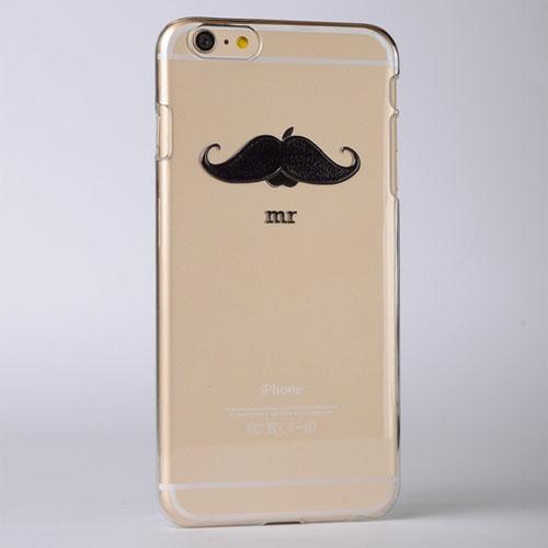 Mustache Custom Raised 3D iPhone 6 Case
