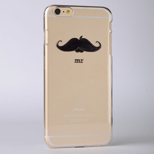 Mustache Custom Raised 3D iPhone 5 Case