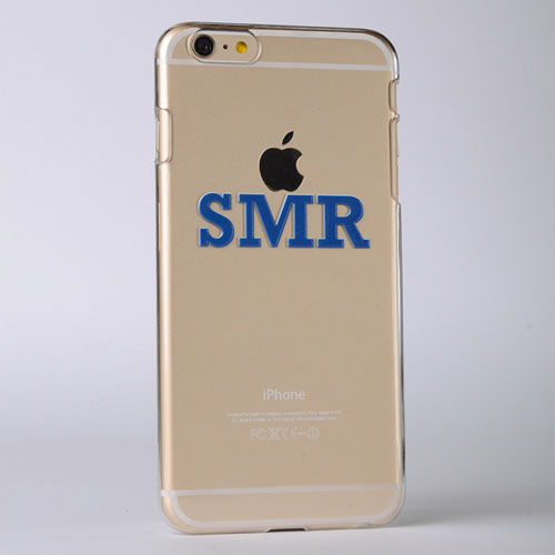 Monogrammed Raised 3D iPhone 5 Case