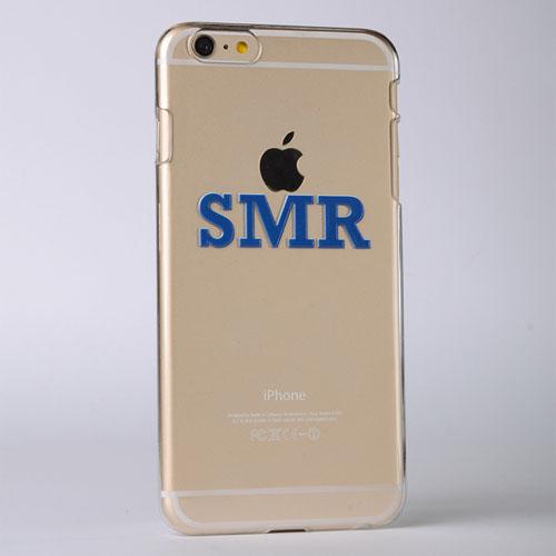 Monogrammed Raised 3D iPhone 6+ Case