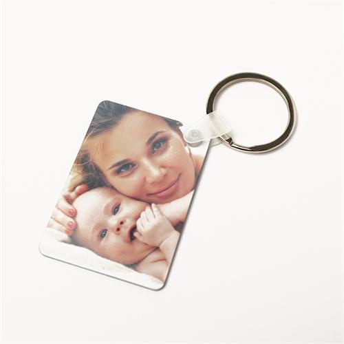 Personalized Photo Aluminum Keychain
