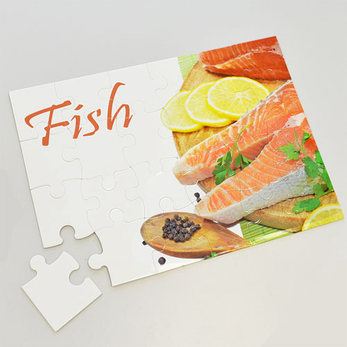 Personalized 24 Piece 12X16.5 Personalized Photo Jigsaw Puzzle Photo Puzzle