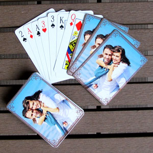 Personalized Wedding Playing Cards Gifts