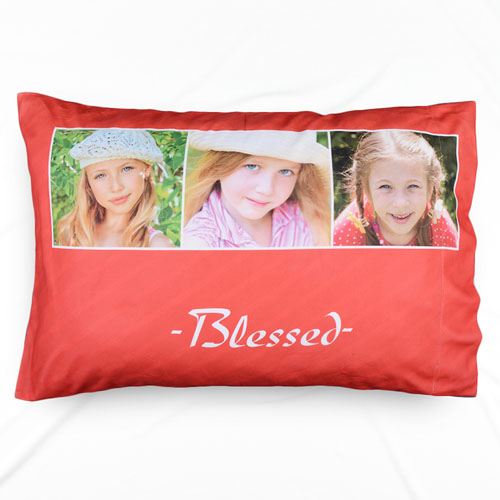 Blessed Collage Personalized Pillowcase