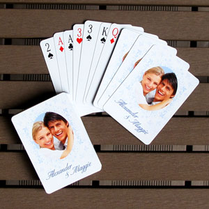 Personalized Photo Playing Cards Wedding Anniversary Favors