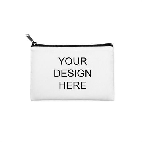 Custom Imprint 3.5X6 Cosmetic Bag Black Zipper (Same Image)