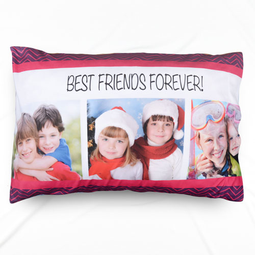 Best Friend Collage Personalized Pillowcase