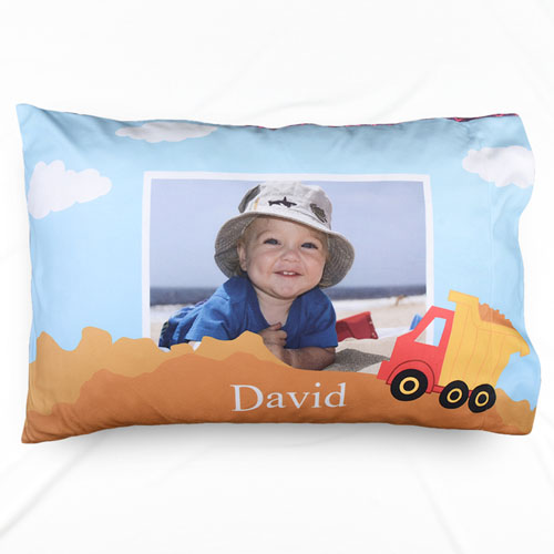 Truck Personalized Photo Pillowcase