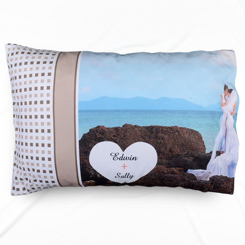 Wedding Personalized Photo Pillowcase
