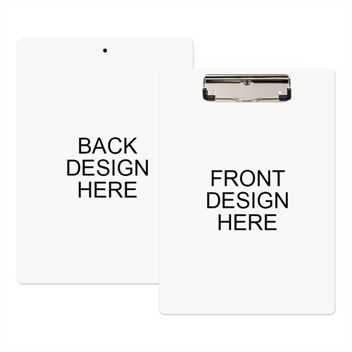 Custom Full Color Imprint Clipboard (Front & Back)