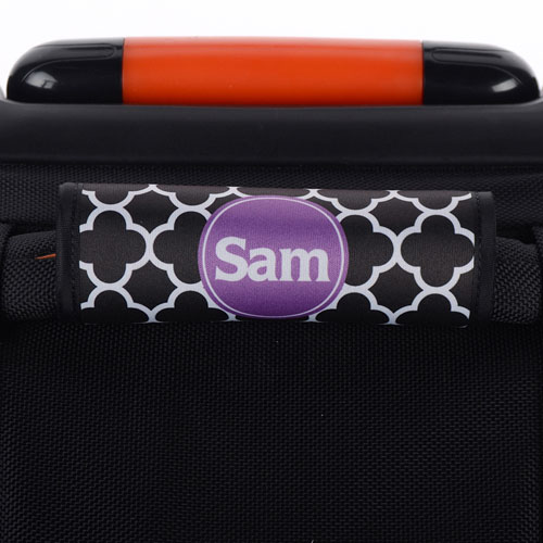 Black Clover Personalized Luggage Handle Wrap