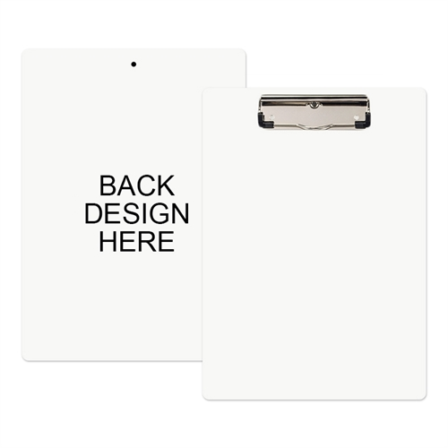 Custom Full Color Imprint Clipboard (Back Only)